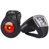 Red Cycling Products Urban LED USB Cykellygter sæt sort